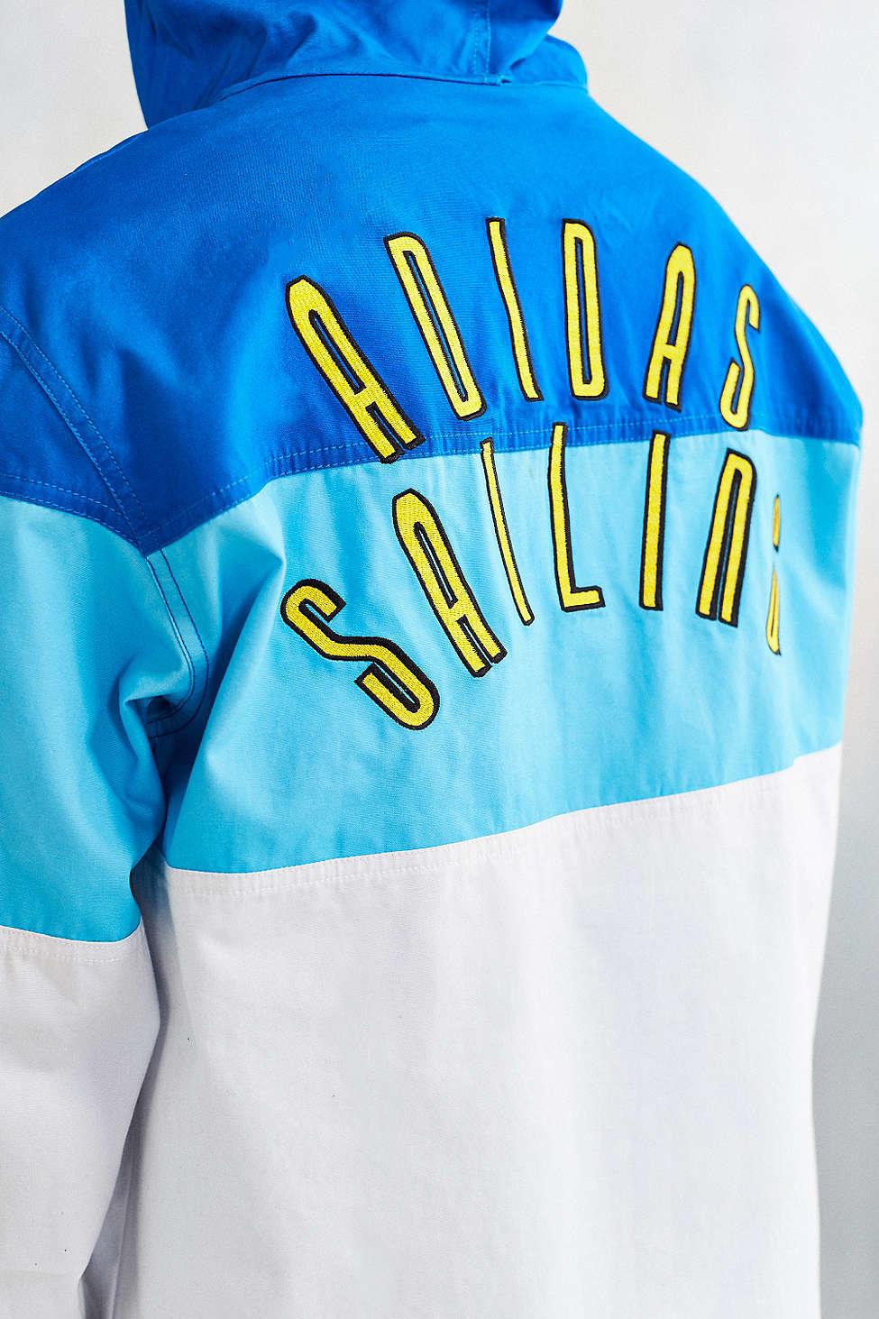 Zip Half For Adidas Sailing Jacket Men Graphic Originals White nXN08wOPk