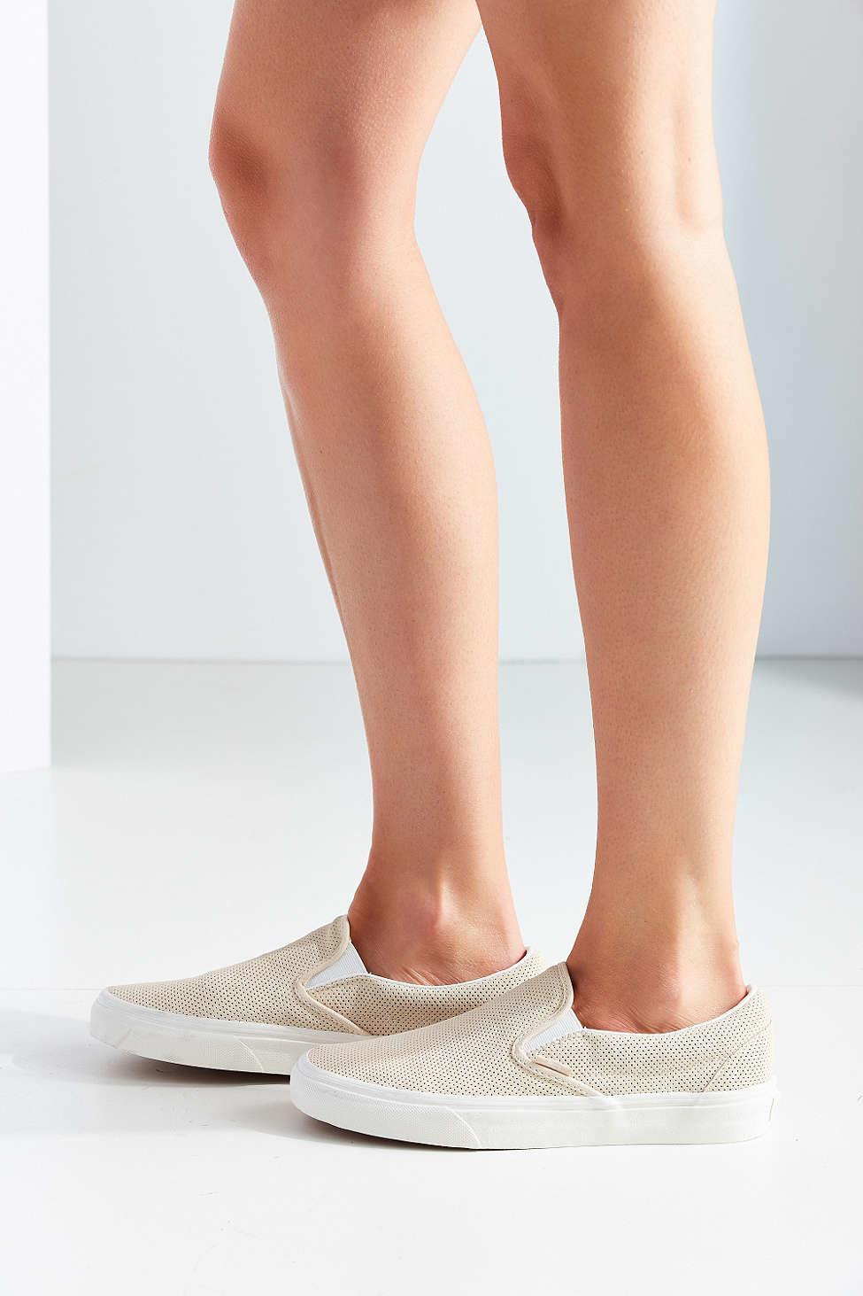 Vans Perforated Suede Slip-on Sneaker