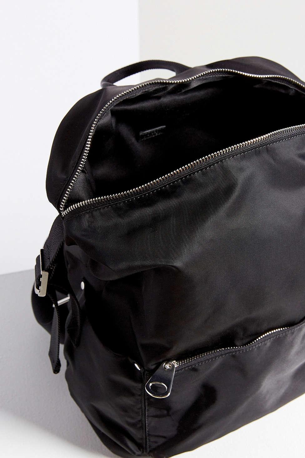 71d145f02db Silence + Noise Nylon Backpack in Black - Lyst