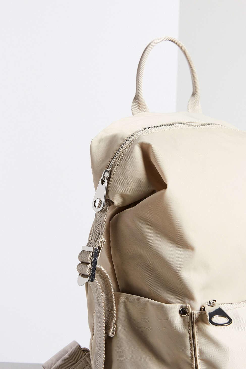 08e74f4b99c Lyst - Silence + Noise Nylon Backpack in Natural