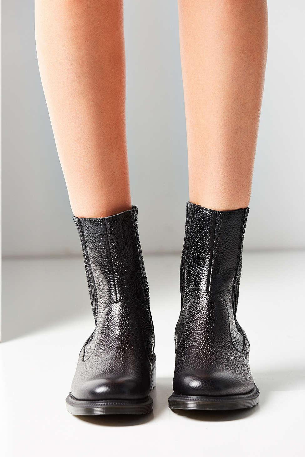 Dr. Martens Leather Eleanore Chelsea