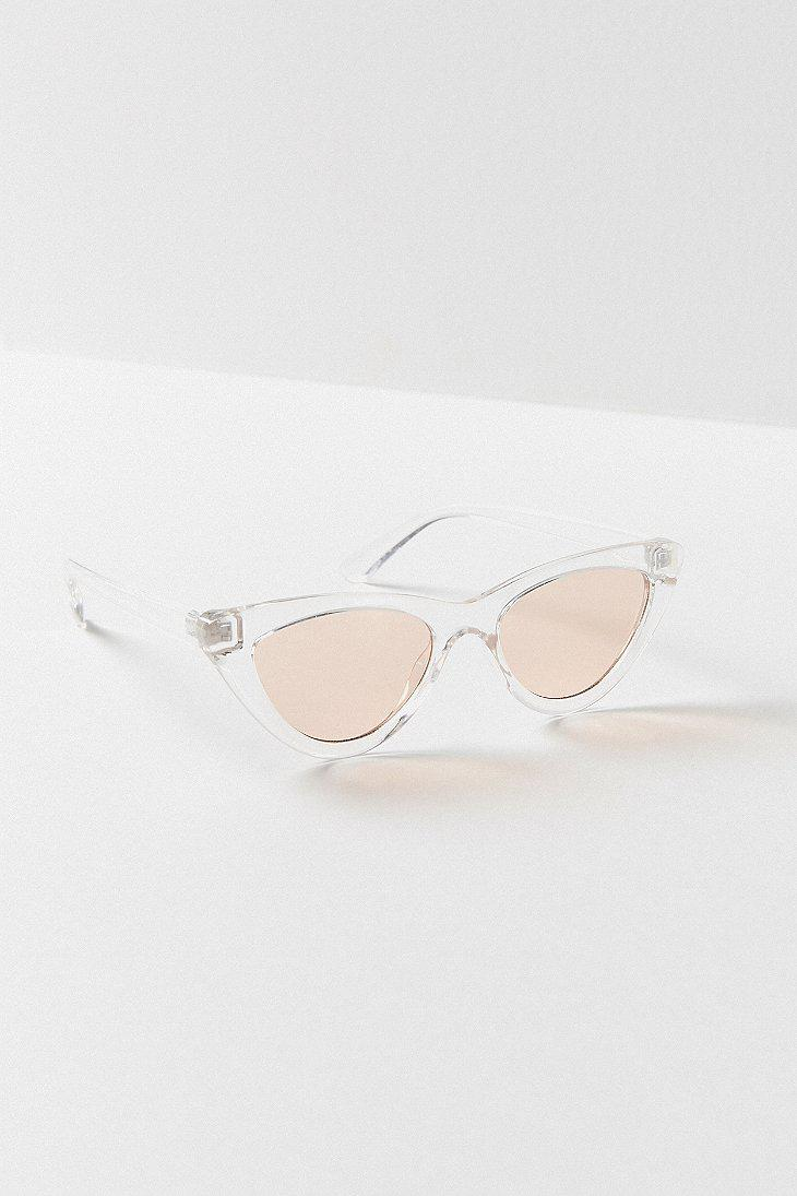 f8df83f917c32 Lyst - Urban Outfitters Cry Baby Cat-eye Sunglasses
