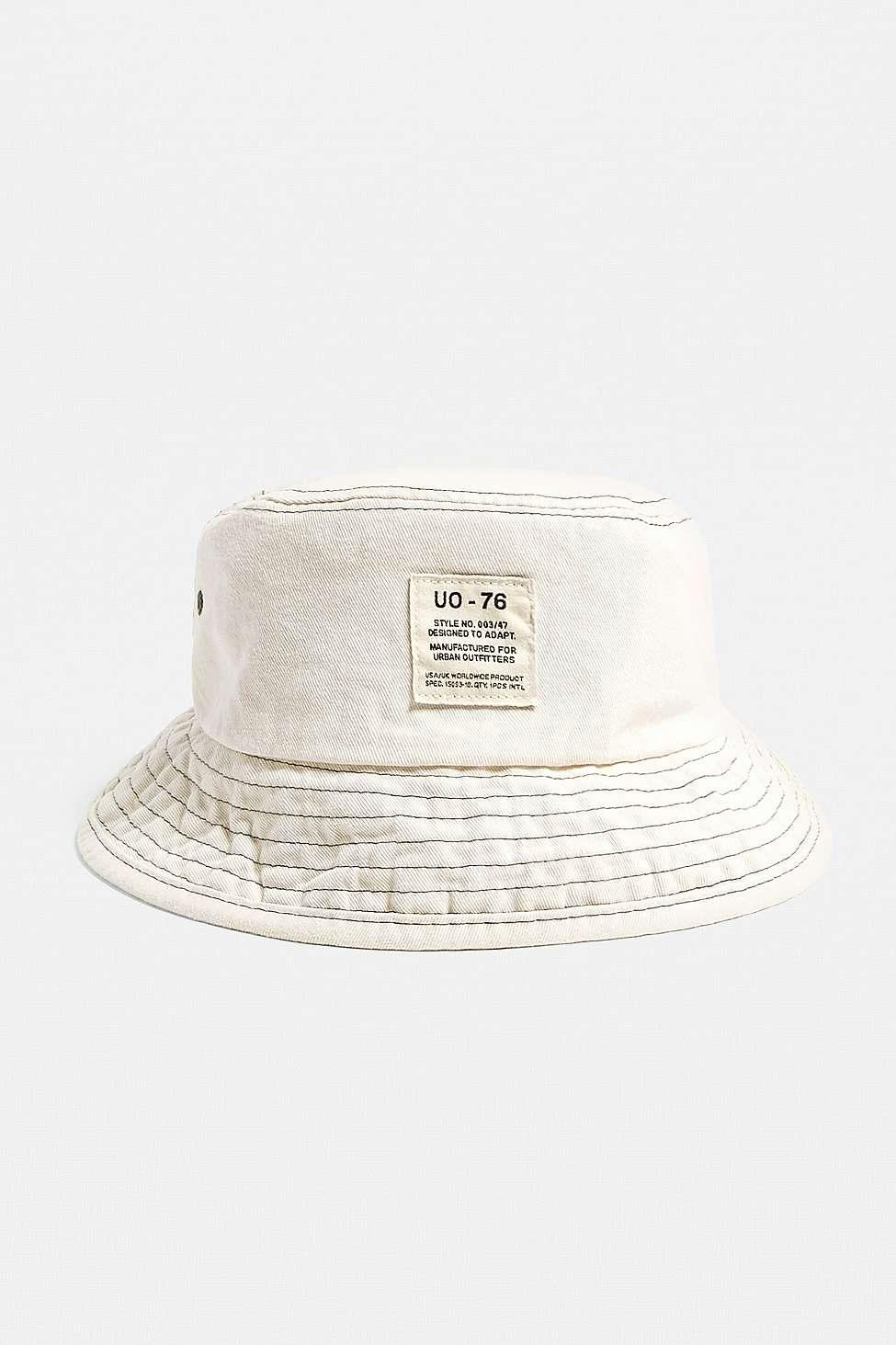 ae805186e Urban Outfitters Natural Uo Utility Bucket Hat - Womens All