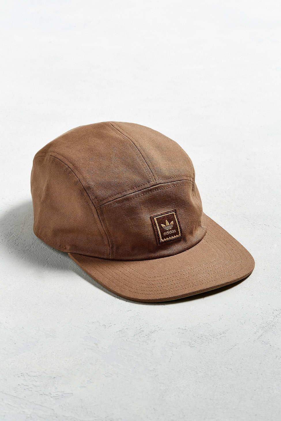 Lyst - adidas Originals Sk8 5-panel Hat in Brown for Men d74a8c2616e