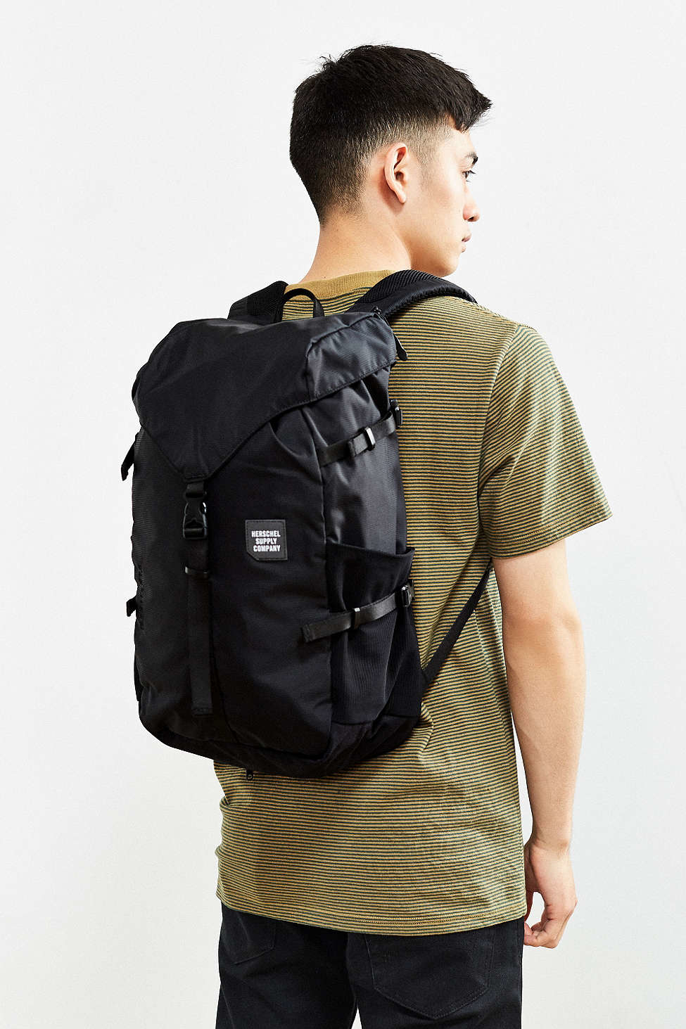 9d4bbeb8b7a Lyst - Herschel Supply Co. Trail Barlow Backpack in Black for Men