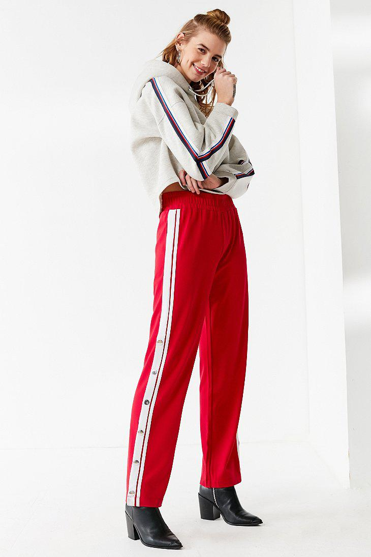 acbc04673e212 Tommy Hilfiger Tommy Hilfiger Tear-away Track Pant in Red - Lyst