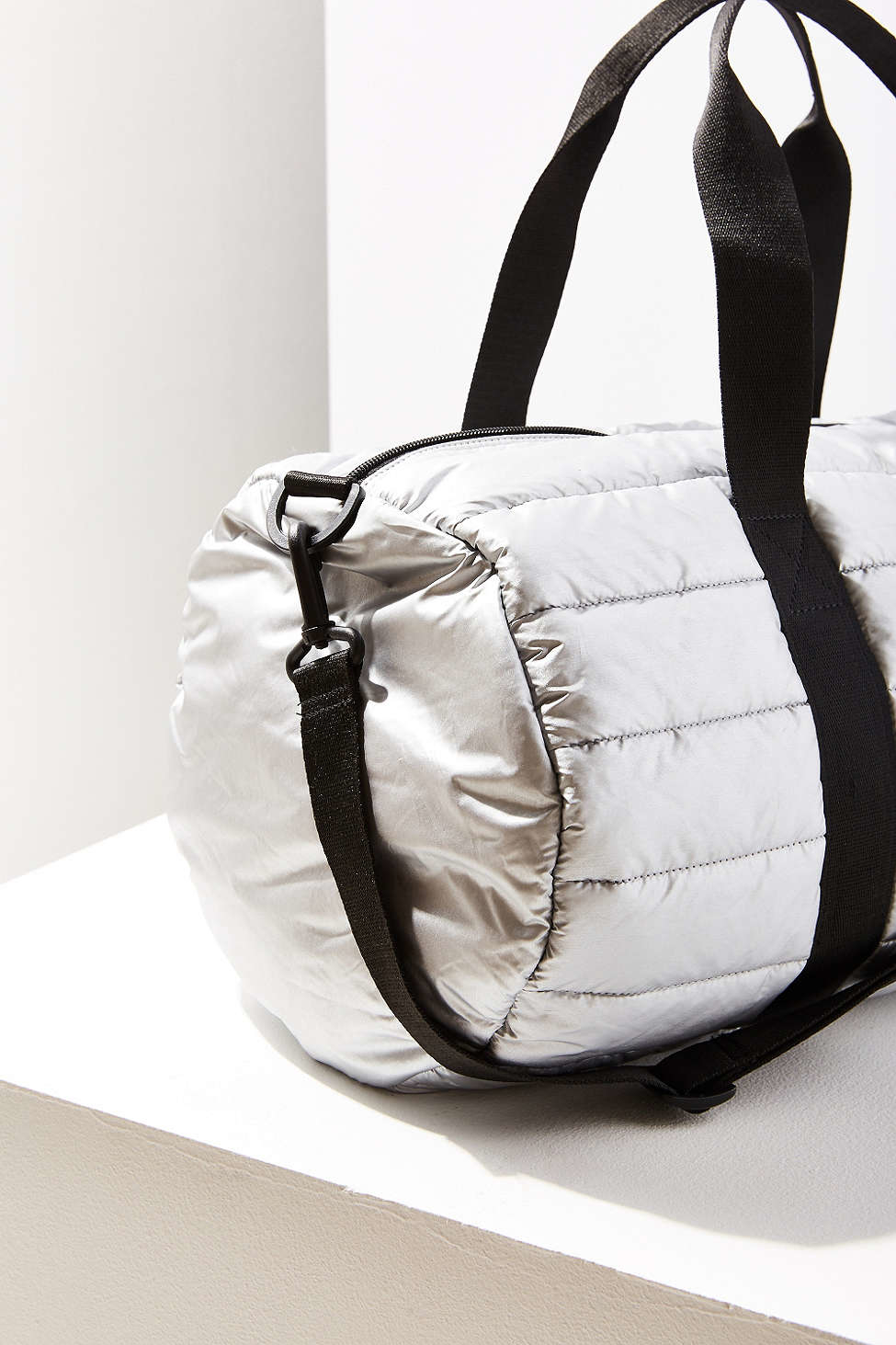 26d3c539ea Lyst - Converse Packable Duffel Bag in Metallic