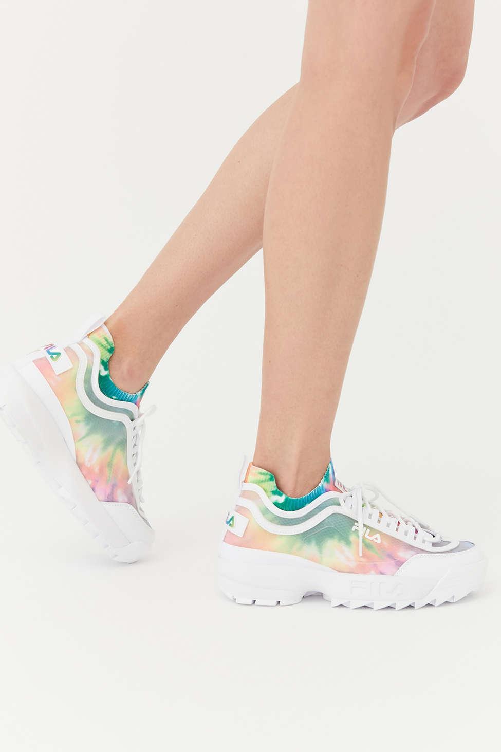 fila uo exclusive disruptor ii sneaker