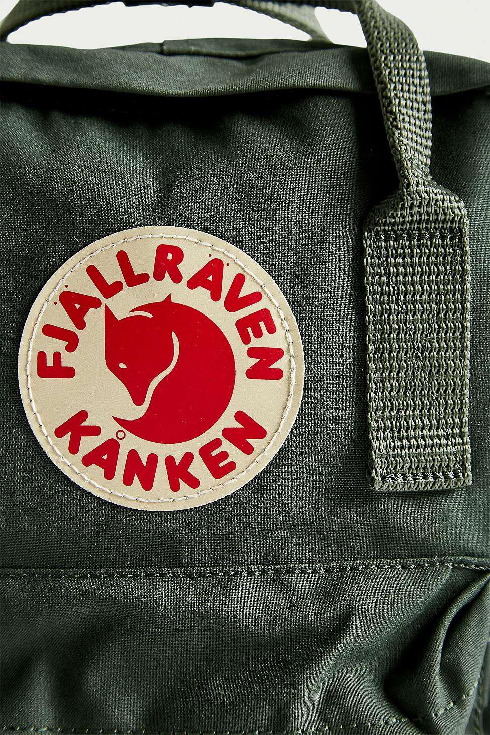 Fjallraven Kanken Forest Green Mini Backpack