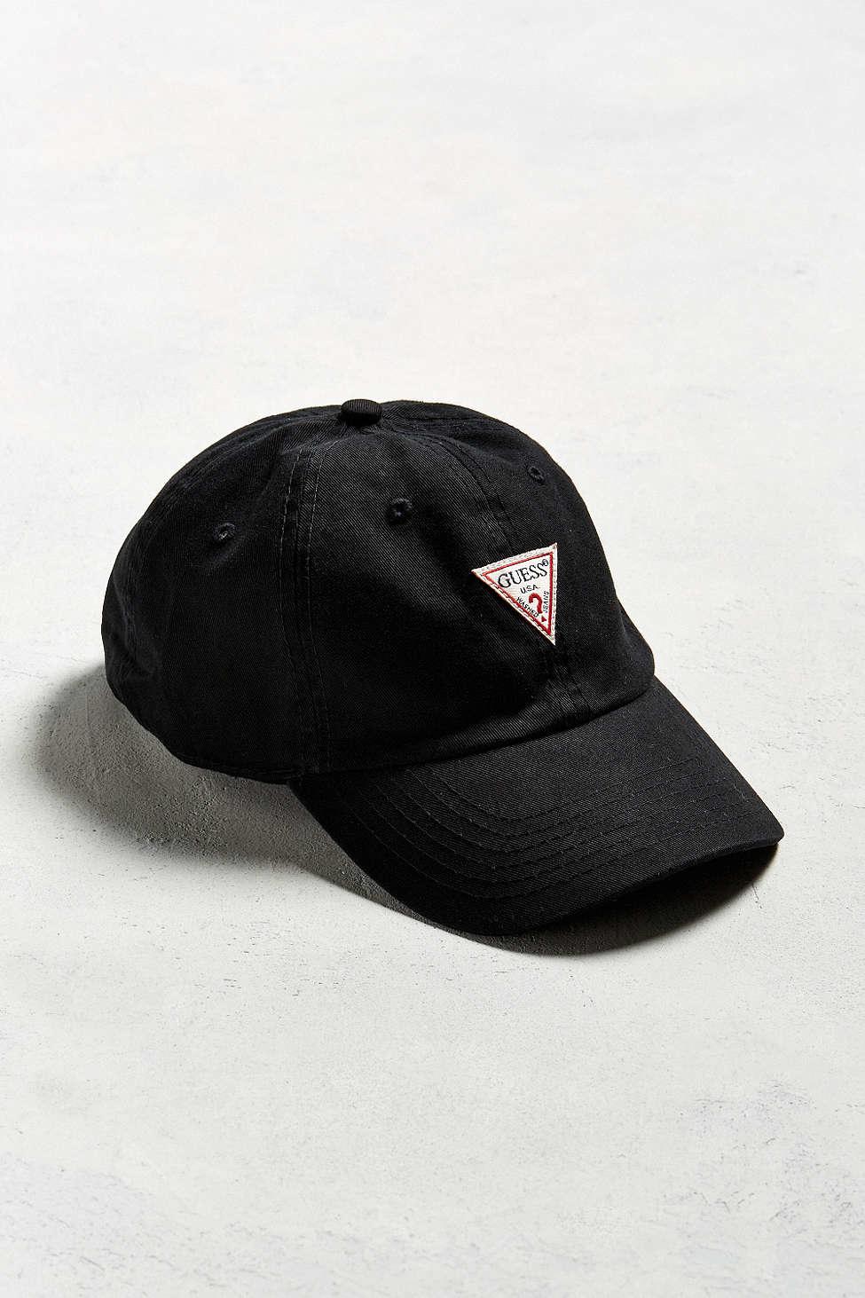 Lyst - Guess Baseball Hat in Black for Men 3ffe7ae06bd