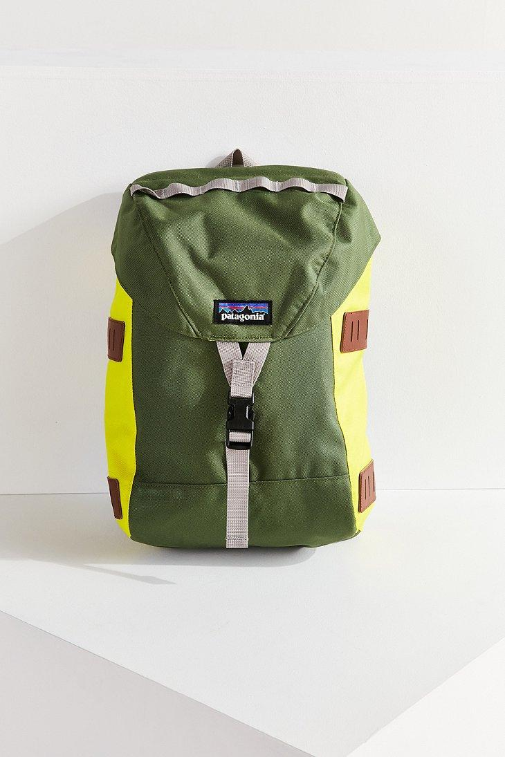 Patagonia Canvas Bonsai 14l Backpack In Green Lyst