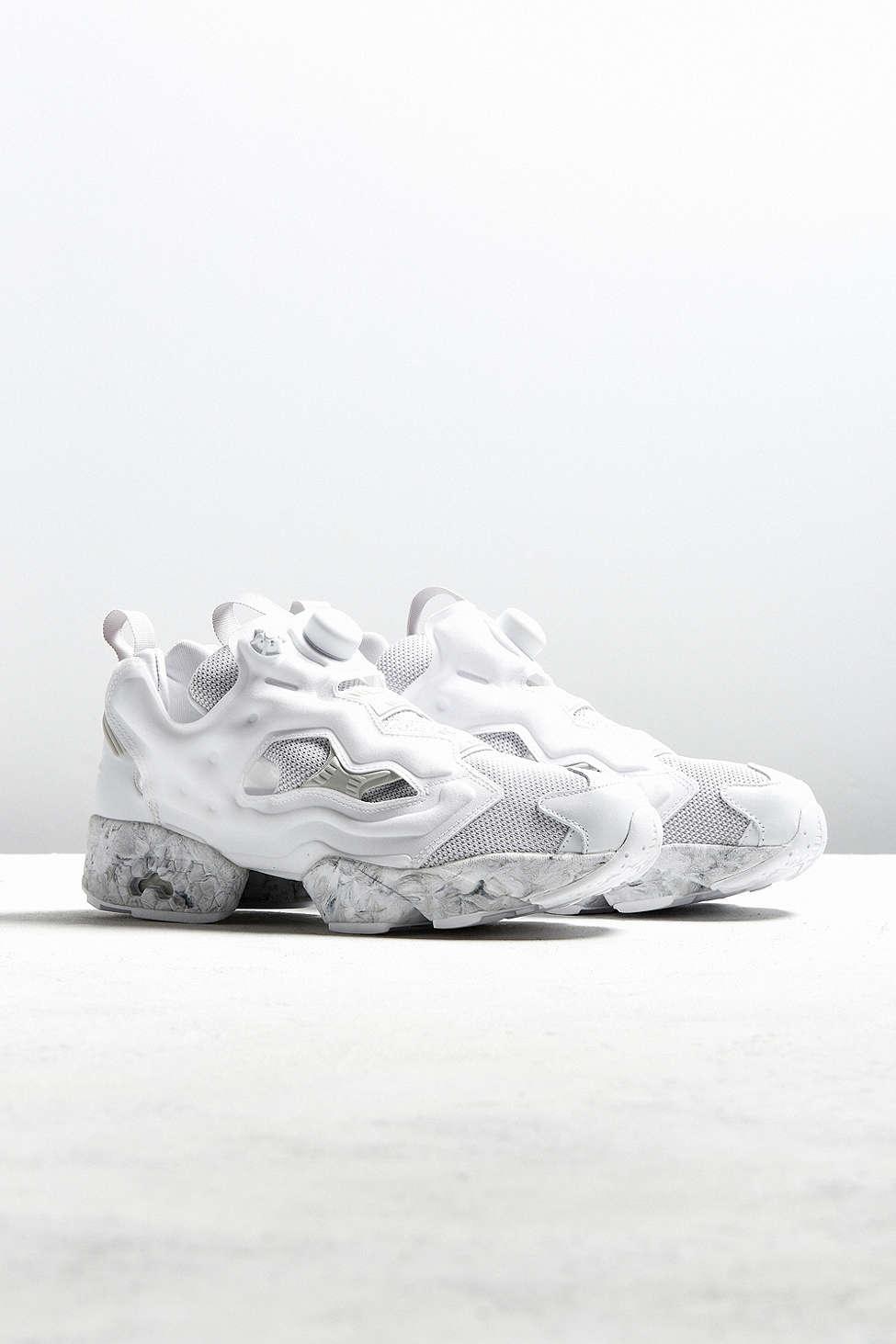 Lyst - Reebok Instapump Fury Achm Sneaker in White for Men 3b356b19c