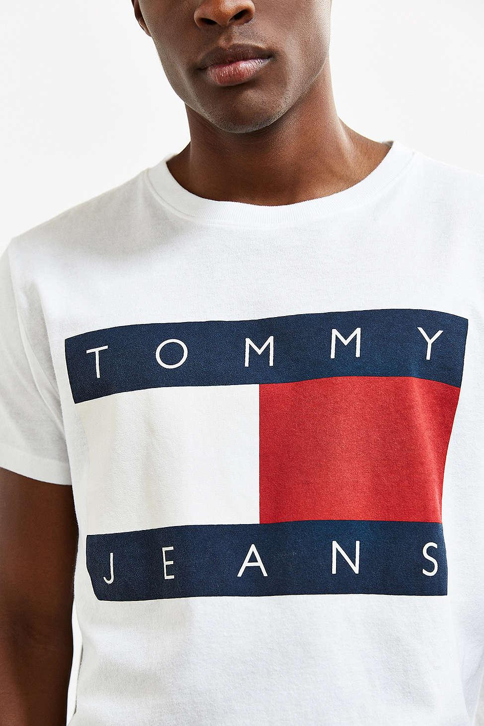 cheap for sale excellent quality new cheap Tommy Jeans For Uo '90s Logo Tee