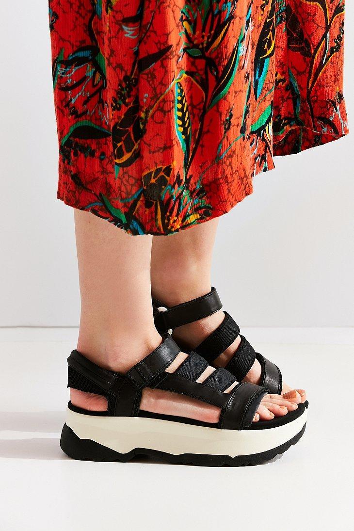 Lyst Teva Zamora Platform Sandal In Black