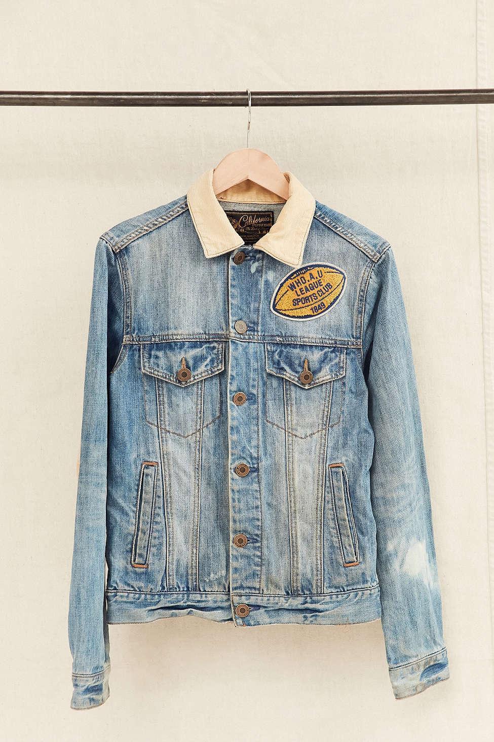 renewal vintage california chs denim jacket lyst