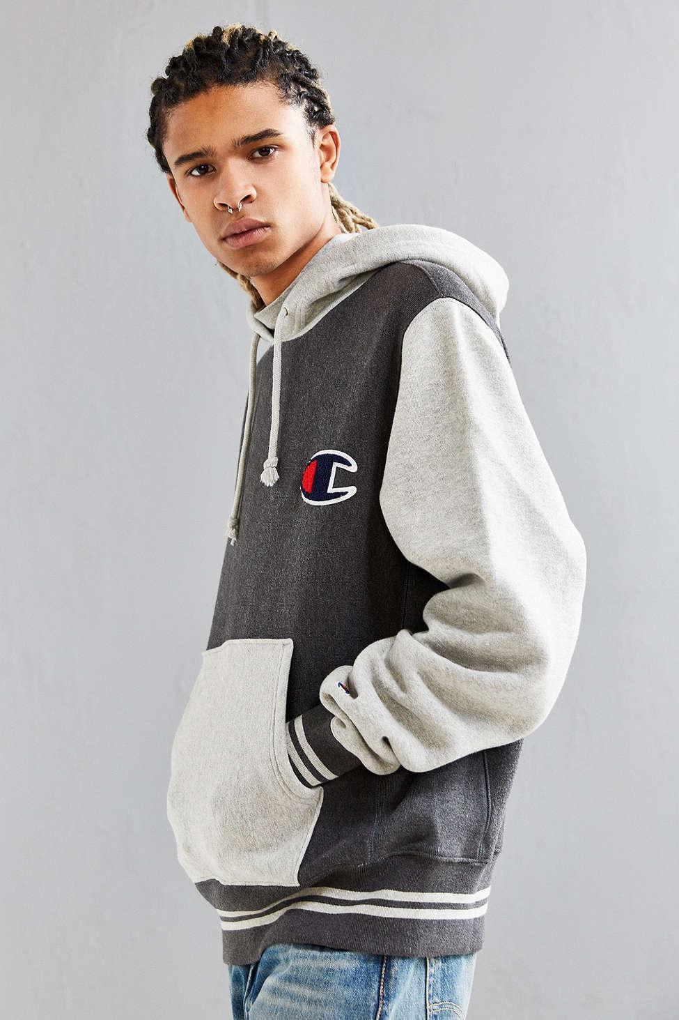 Champion Colorblock Reverse Weave Hoodie Sweatshirt in ... Tom Ford Eyewear Logo