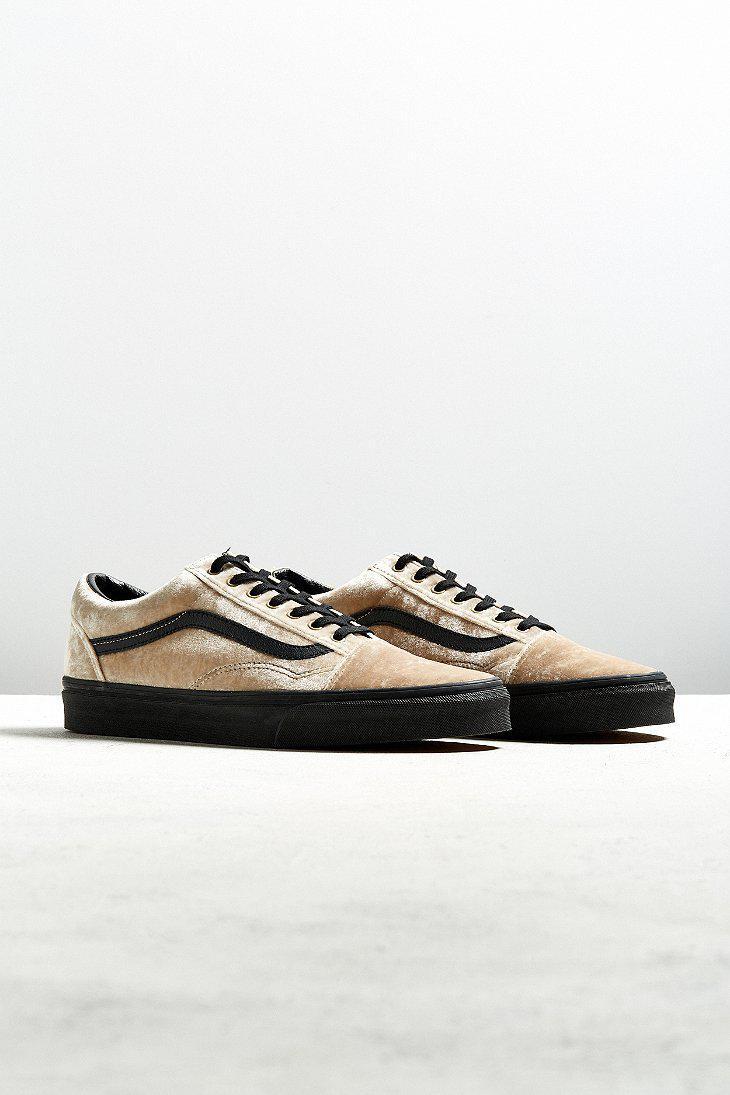 2ffa85fd39 Lyst - Vans Vans Old Skool Tan Velvet Sneaker for Men