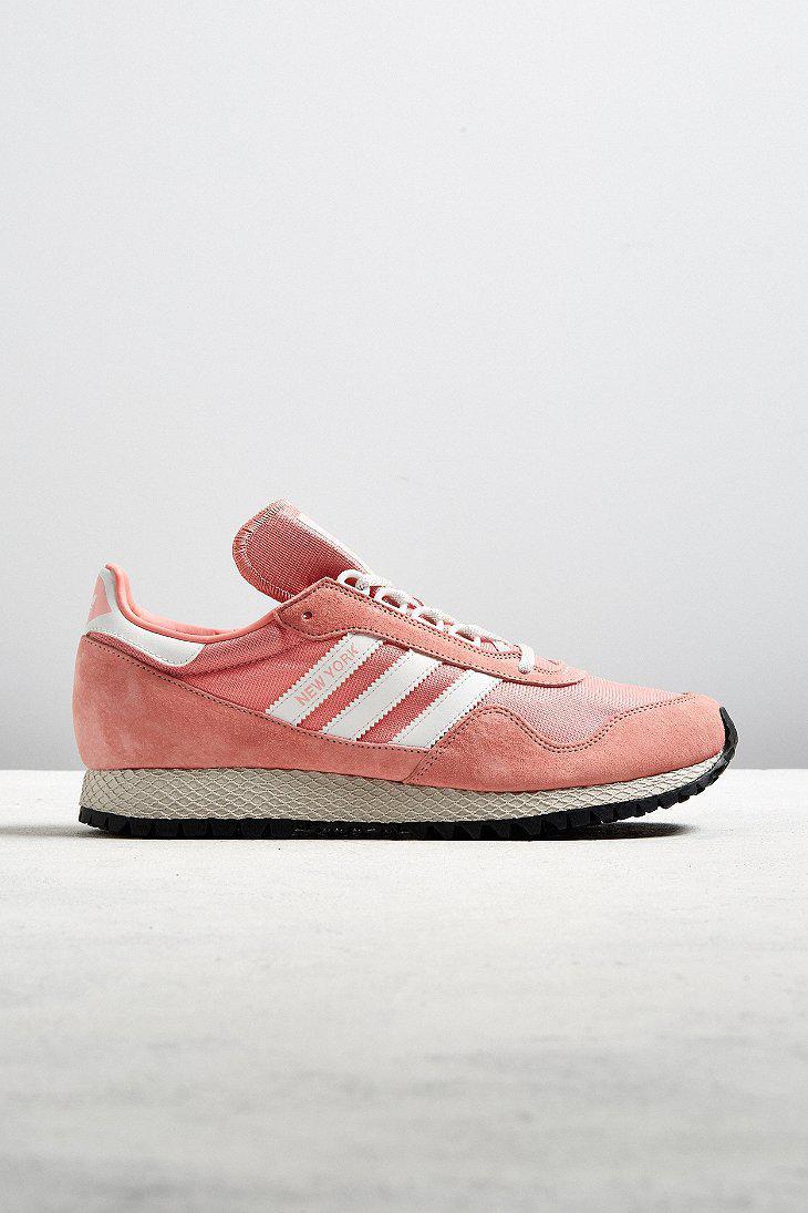 1e6168580343 Lyst - adidas Originals New York Pastel Sneaker in Pink for Men