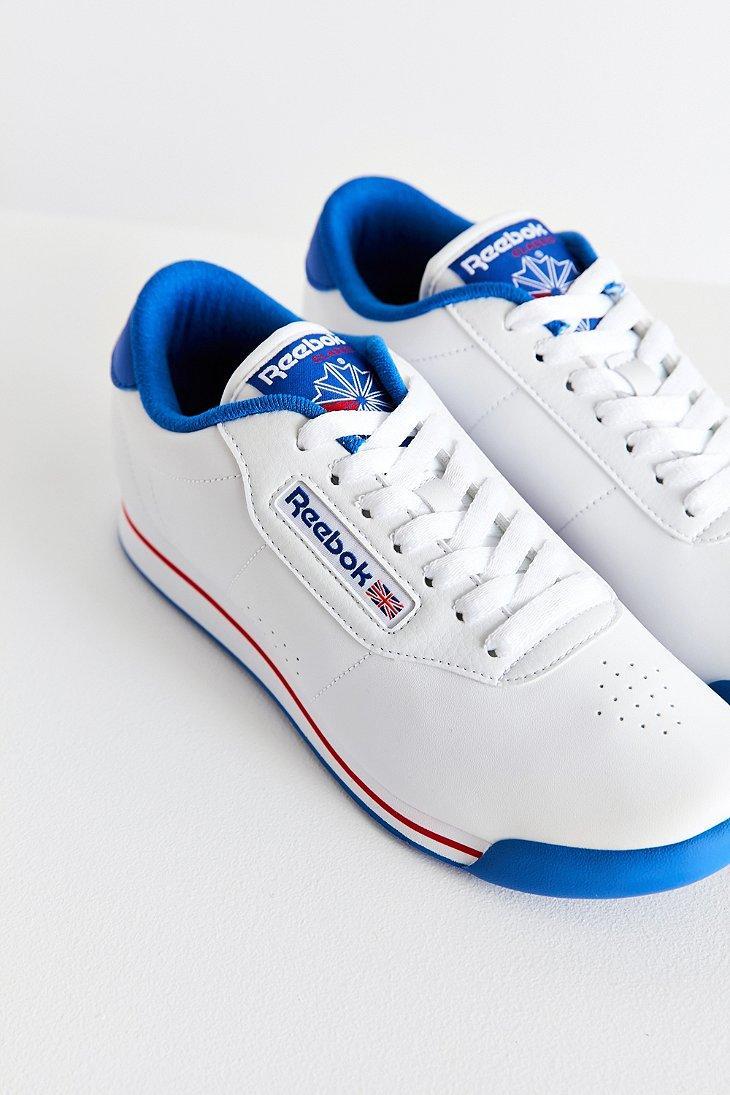 Lyst Reebok Princess Fitness Sneaker In Blue