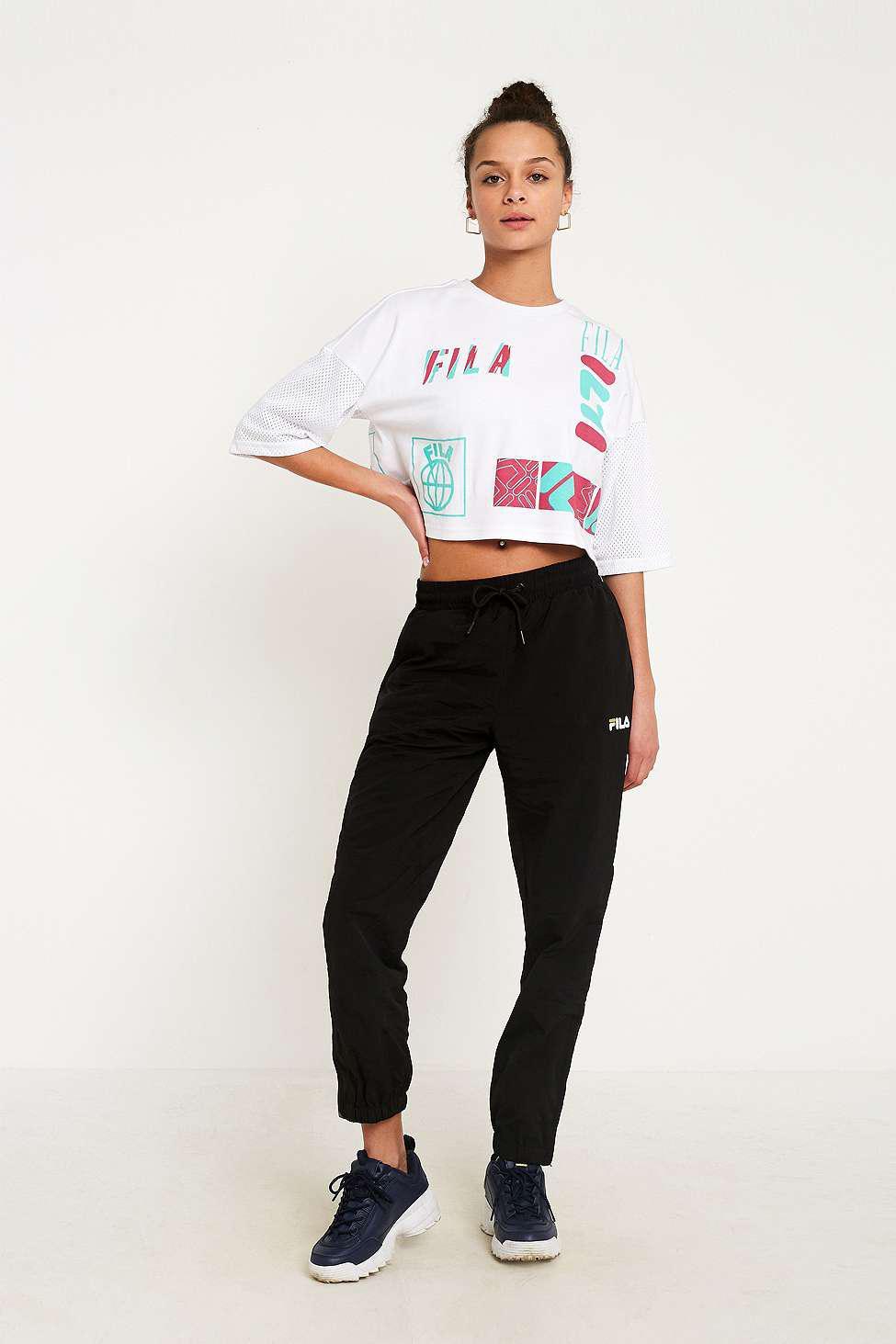 ecab73ca84 Fila Midouri Boxy T-shirt - Womens Xs in White - Lyst