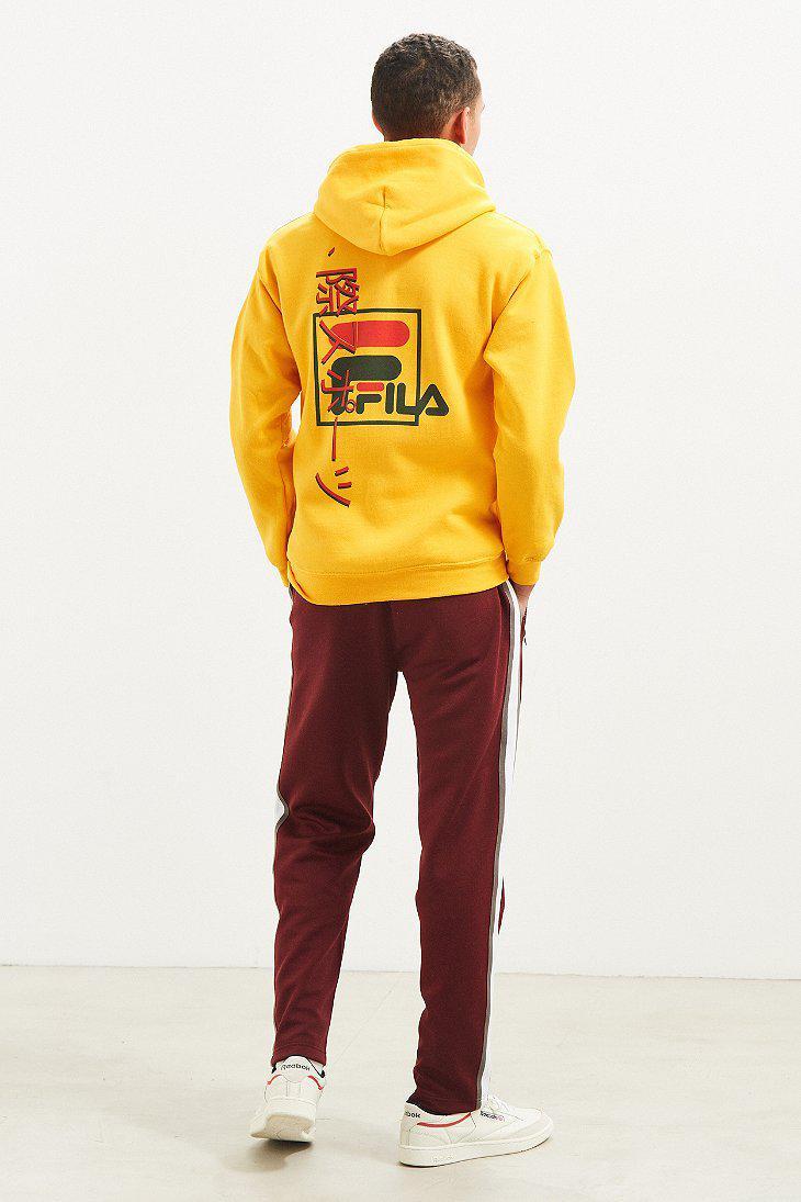 40ae3ea4b13e Fila Fila International Sport Hoodie Sweatshirt in Metallic for Men ...