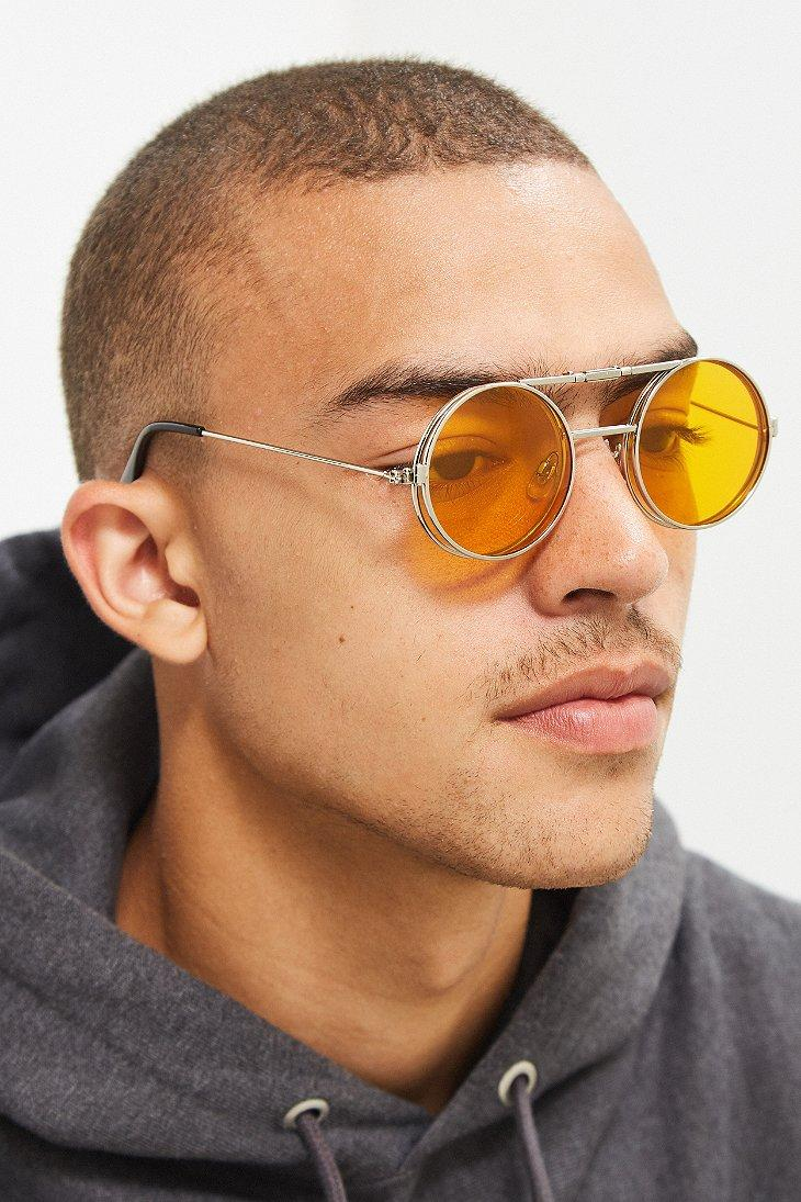 c3c0832e7ea66 Spitfire Lennon Flip Sunglasses in Metallic for Men - Lyst