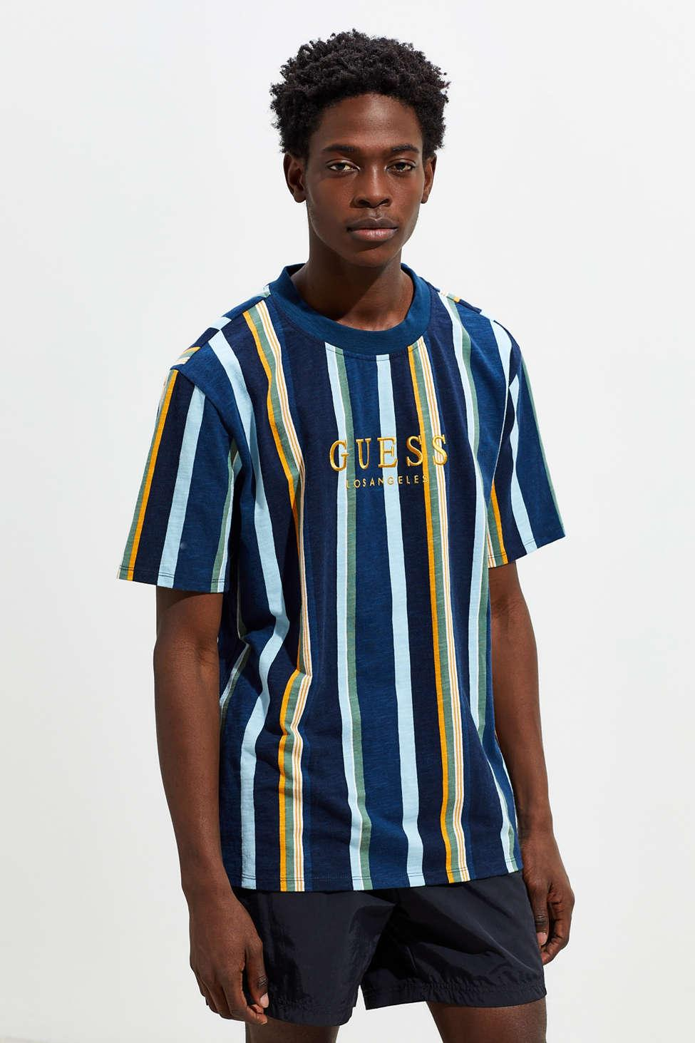 wholesale online 100% quality new specials Guess Sayer Striped Tee