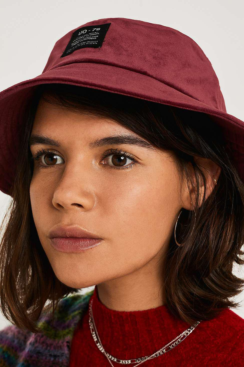 9b5e5b84d2d Urban Outfitters Uo Utility Velour Classic Bucket Hat - Womens All ...