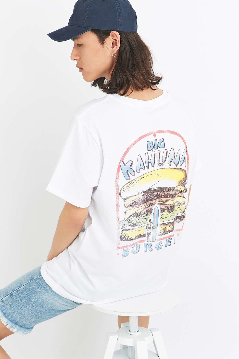 d633f79fc Urban Outfitters Big Kahuna Burgers White T-shirt in White for Men ...
