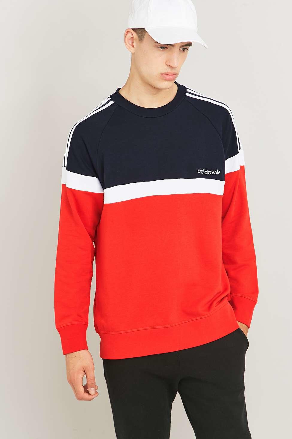 Crewneck Itasca Originals Vivid Adidas Men Sweatshirt For Red QxWoeBdCr