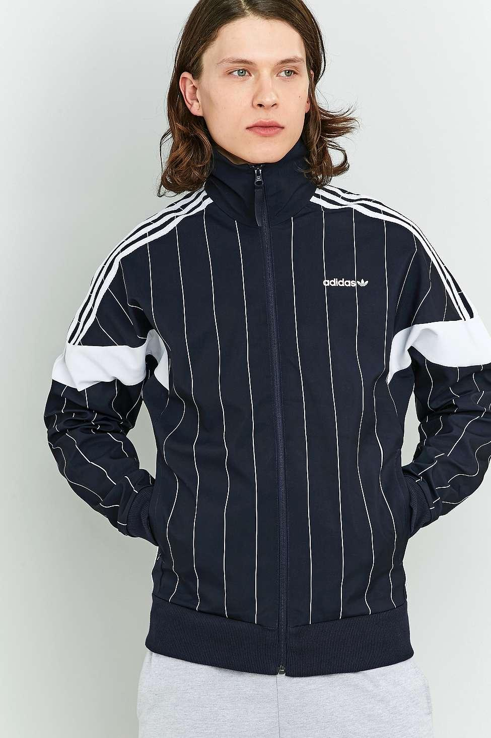 adidas Originals Mens Tokyo Pinstripes Challenger Track Top