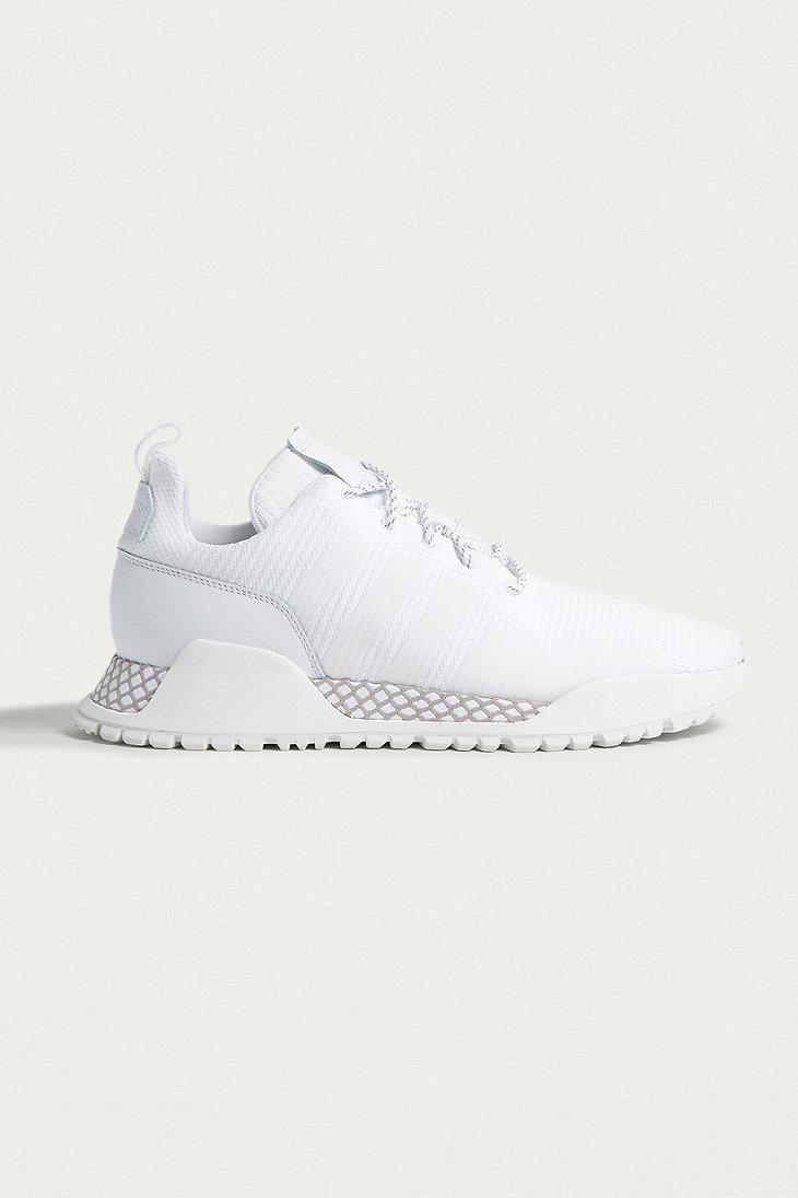 Lyst Adidas Adidas F White Primeknit Formatori In Bianco Per Gli Uomini.