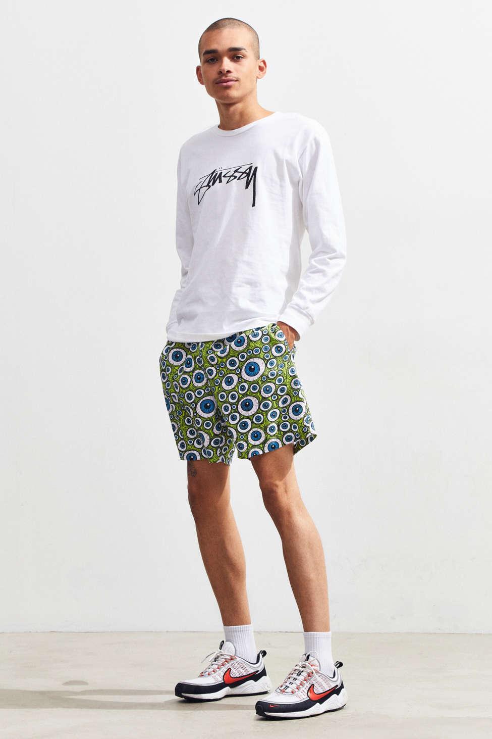 bfe78f958e Boardies ® X Fos Eyes Mid-length Swim Short in Green for Men - Lyst