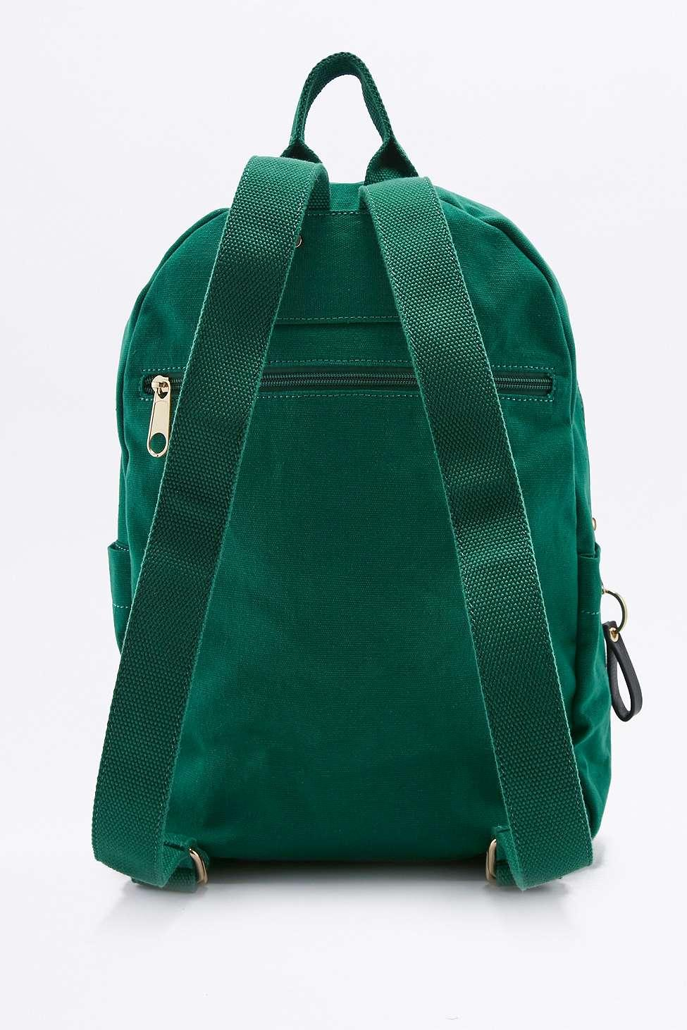 BDG Canvas Backpack in Green