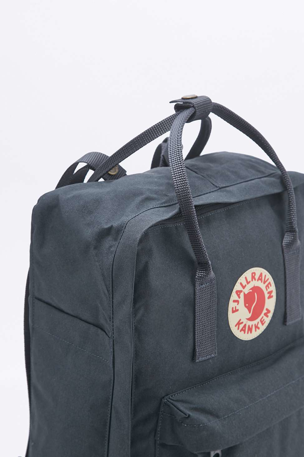 Snap Fjallraven Kanken Classic Backpack In Blue And Navy Royal Pinstripe Pattern Lyst