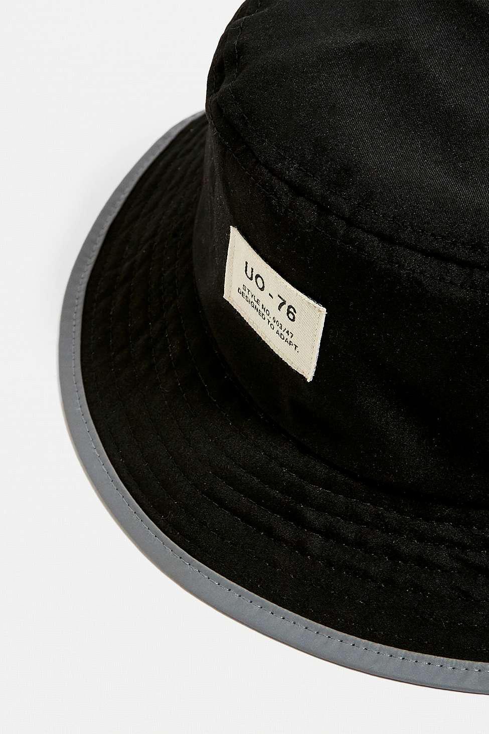 bfa56b57918 Urban Outfitters - Black Uo Fisherman Bucket Hat - Womens All - Lyst. View  fullscreen