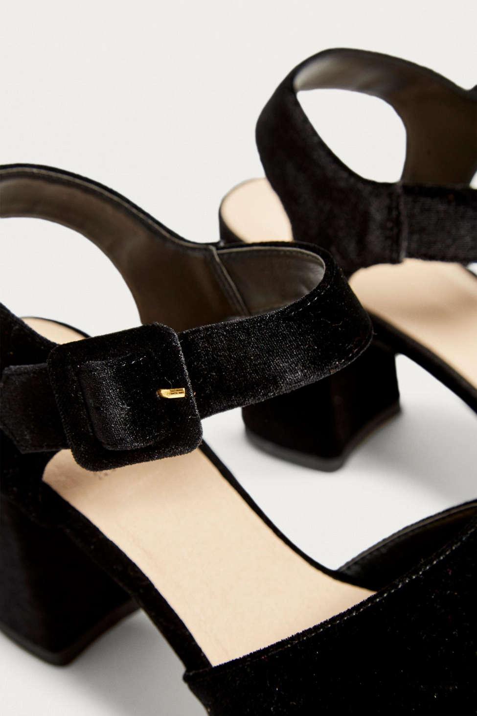 6b72fc7c0e Lyst - Urban Outfitters Uo Harlem Platform Heel in Black