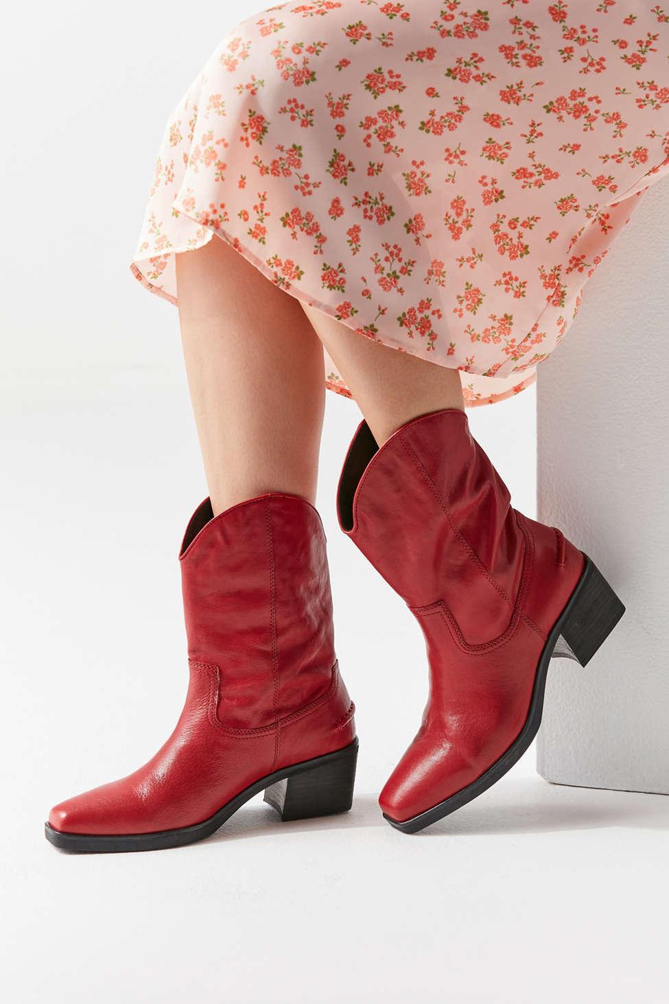 2c398660e26 Vagabond Red Simone Leather Boot