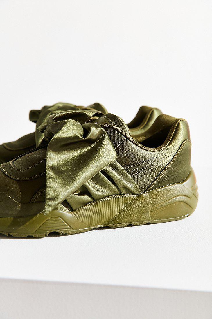 the latest 94576 88563 Women's Green Fenty By Rihanna Bow Sneaker
