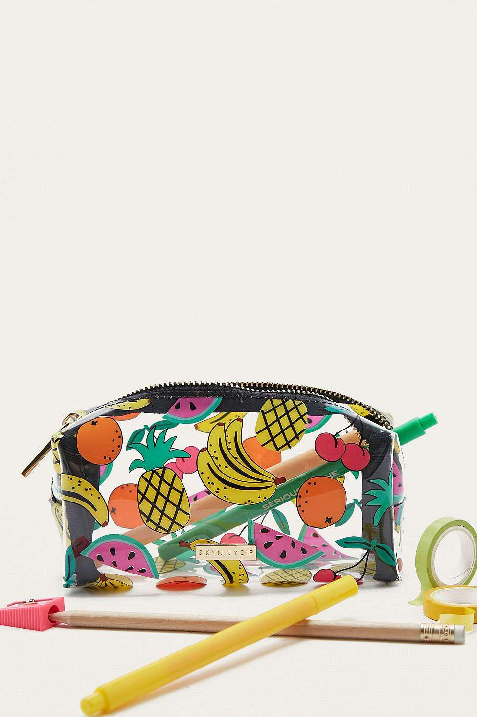 1acc725bdcc Urban Outfitters Uo X Skinnydip Fruit Salad Pencil Case - Womens All ...