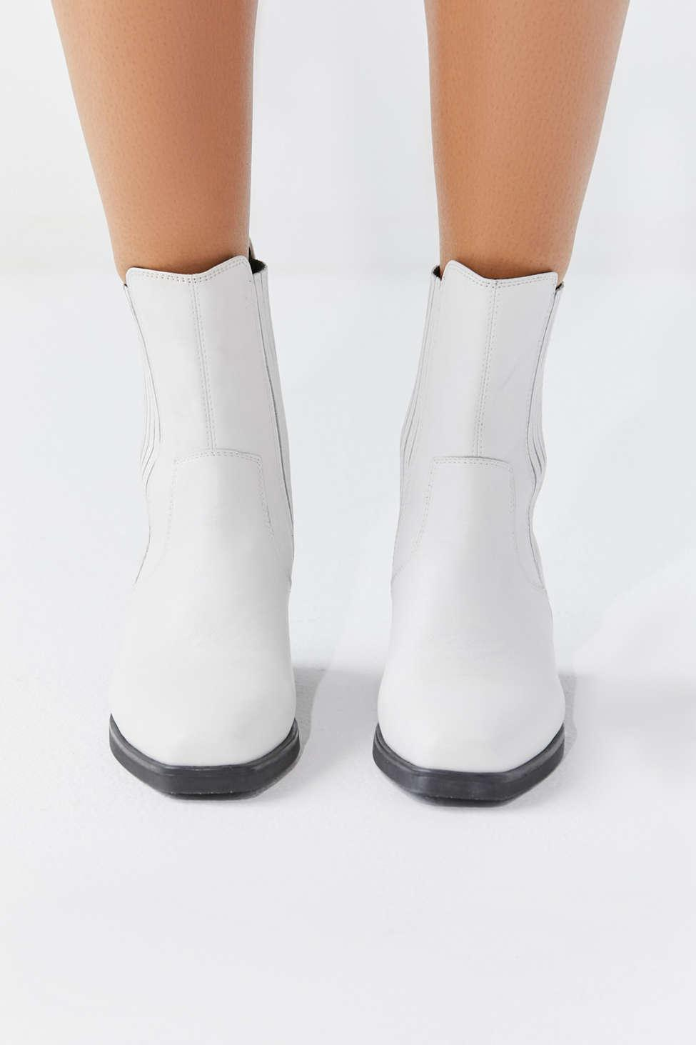 b574e82f035 Women's White Simone Cowboy Boot