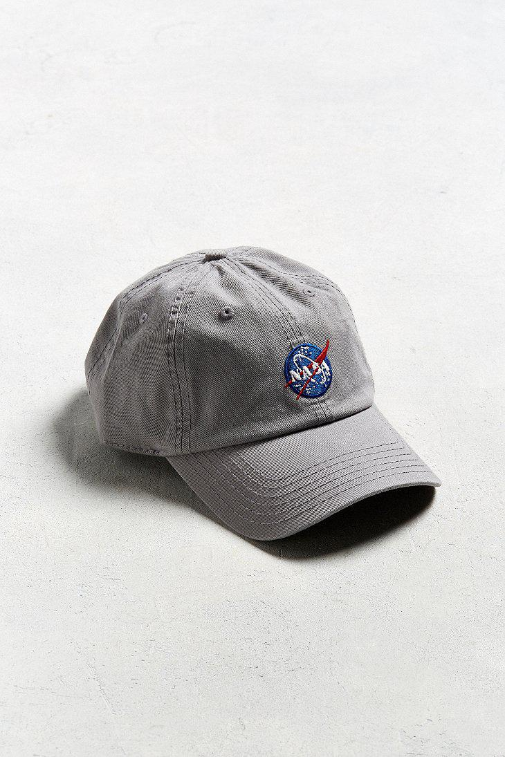 4c34c628f169a Urban Outfitters Nasa Logo Baseball Hat in Gray for Men - Lyst