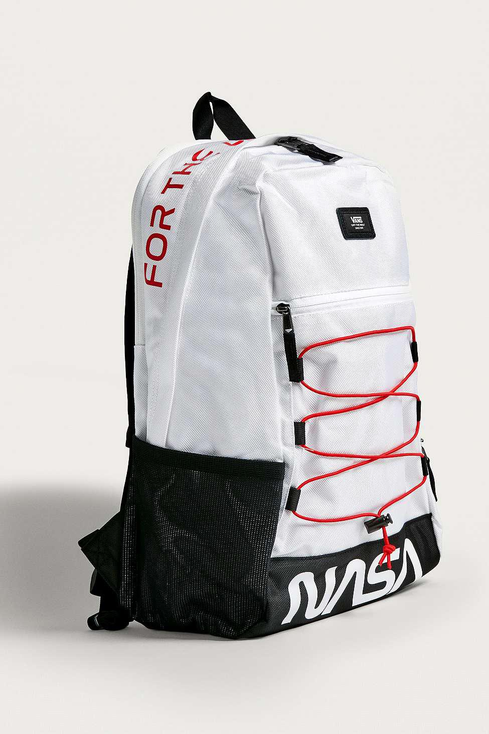 Vans White Space Voyager Snag Plus Nasa Backpack - Mens All for men