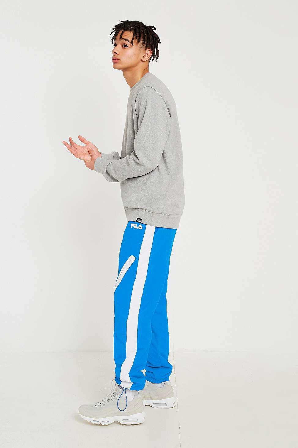 8da802fb12 Fila Blue Nylon Ski Pants - Mens S in Blue for Men - Lyst