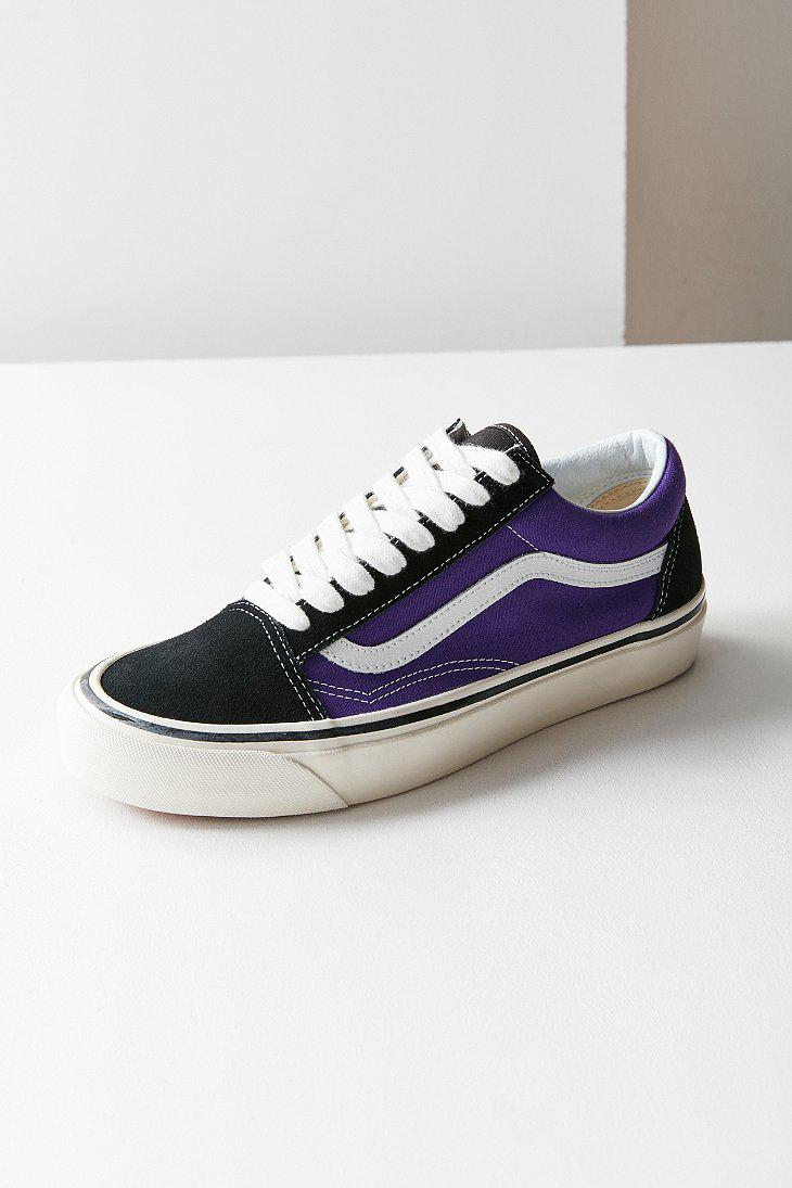 6887f7e4d1 Lyst - Vans Vans Anaheim Factory Old Skool 36 Dx Sneaker in Purple