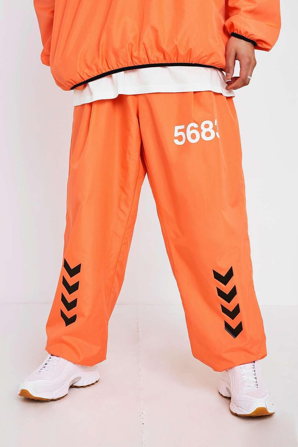 wyglądają dobrze wyprzedaż buty różne style sklep X Willy Chavarria Orange Track Pants