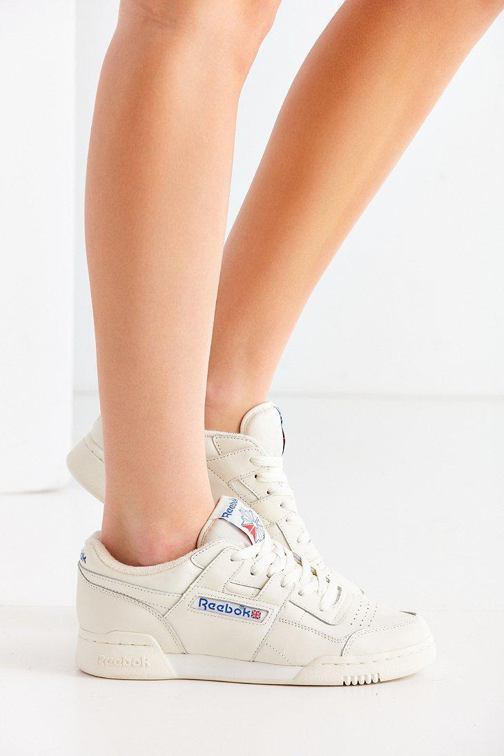 658bd34ef8d Reebok White Workout Plus Vintage Sneaker