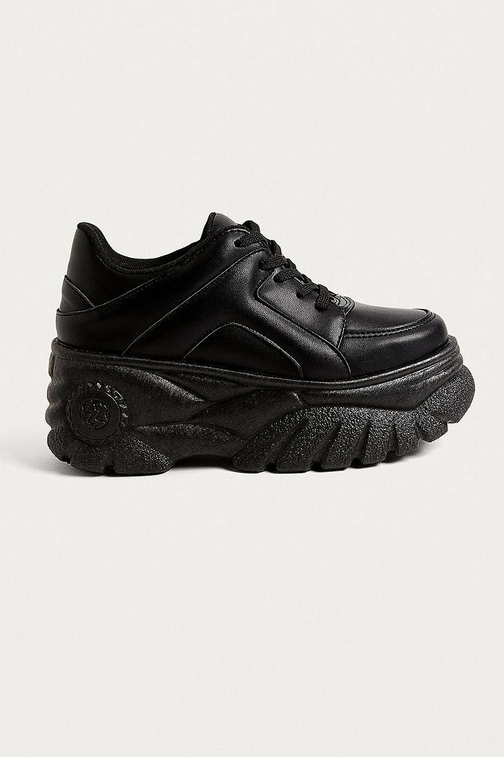 Uo Taylor Chunky Trainers in Black
