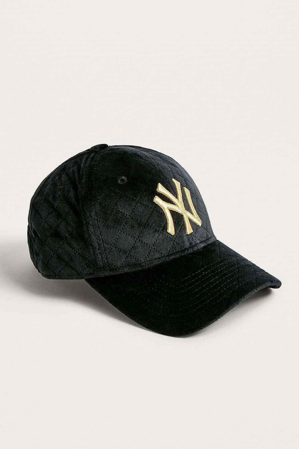 82a7e090c KTZ 9forty New York Yankees Winter Cap - Womens All in Black - Lyst