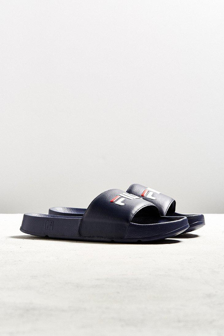 Fila Sport Rubber Slide Sandal In Blue For Men Lyst